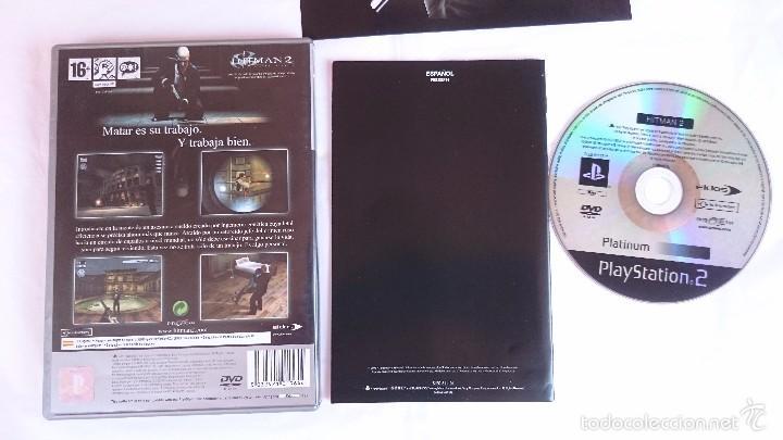 Videojuegos y Consolas: JUEGO HITMAN 2 SILENT ASSASSIN PLAYSTATION 2 PS2 PAL ESPAÑA.BUEN ESTADO - Foto 3 - 56935559