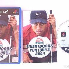 Videojuegos y Consolas: JUEGO COMPLETO TIGER WOODS PGA TOUR 2004 GOLF PLAYSTATION 2 PS2 PAL ESPAÑA.. Lote 56952328