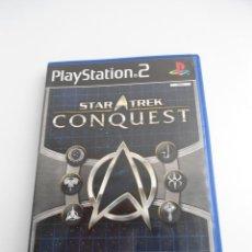 Videojuegos y Consolas: STAR TREK - CONQUEST - SONY PS2 - PLAYSTATION 2 - COMO NUEVO. Lote 56612252