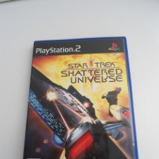 Videojuegos y Consolas: STAR TREK - SHATTERED UNIVERSE - SONY PS2 - PLAYSTATION 2 - COMO NUEVO. Lote 56612227
