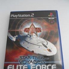 Videojuegos y Consolas: STAR TREK - VOYAGER - ELITE FORCE - SONY PS2 - PLAYSTATION 2 - COMO NUEVO. Lote 56612303