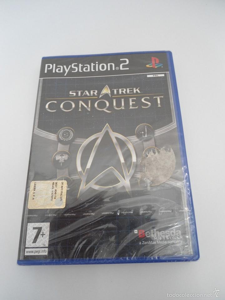 STAR TREK - CONQUEST - SONY PS2 - PLAYSTATION 2 - NUEVO Y PRECINTADO (Juguetes - Videojuegos y Consolas - Sony - PS2)