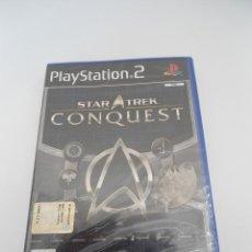 Videojuegos y Consolas: STAR TREK - CONQUEST - SONY PS2 - PLAYSTATION 2 - NUEVO Y PRECINTADO. Lote 56611887