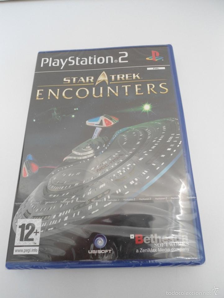 STAR TREK - ENCOUNTERS - SONY PS2 - PLAYSTATION 2 - NUEVO Y PRECINTADO (Juguetes - Videojuegos y Consolas - Sony - PS2)