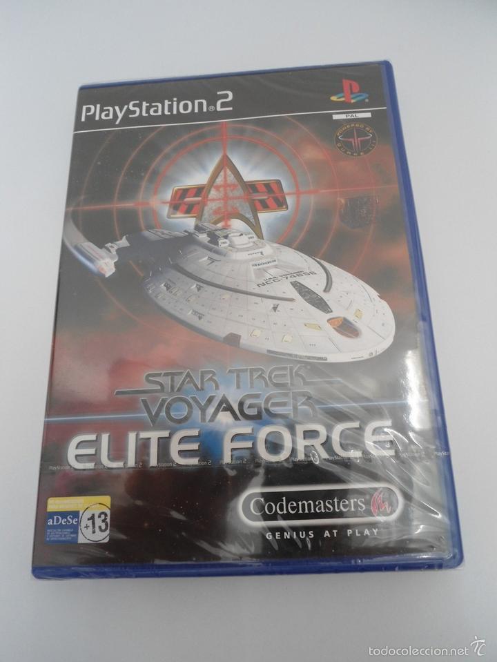 STAR TREK - VOYAGER - ELITE FORCE - SONY PS2 - PLAYSTATION 2 - NUEVO Y PRECINTADO (Juguetes - Videojuegos y Consolas - Sony - PS2)