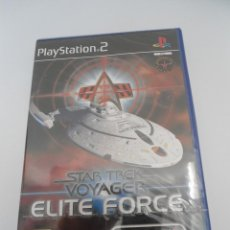 Videojuegos y Consolas: STAR TREK - VOYAGER - ELITE FORCE - SONY PS2 - PLAYSTATION 2 - NUEVO Y PRECINTADO. Lote 56611929