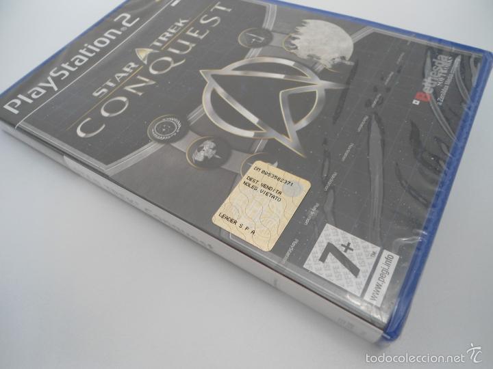 Videojuegos y Consolas: STAR TREK - CONQUEST - SONY PS2 - PLAYSTATION 2 - NUEVO Y PRECINTADO - Foto 2 - 56611887