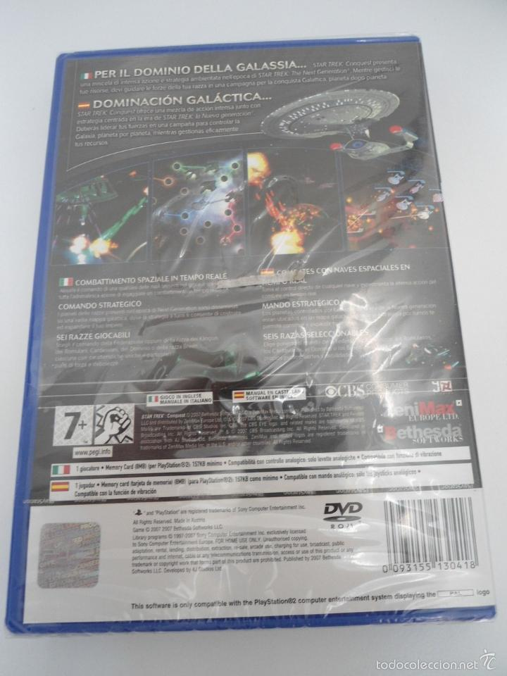 Videojuegos y Consolas: STAR TREK - CONQUEST - SONY PS2 - PLAYSTATION 2 - NUEVO Y PRECINTADO - Foto 4 - 56611887