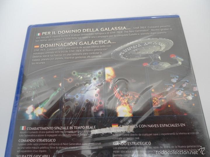 Videojuegos y Consolas: STAR TREK - CONQUEST - SONY PS2 - PLAYSTATION 2 - NUEVO Y PRECINTADO - Foto 5 - 56611887