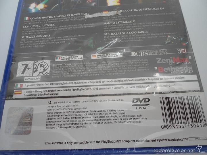 Videojuegos y Consolas: STAR TREK - CONQUEST - SONY PS2 - PLAYSTATION 2 - NUEVO Y PRECINTADO - Foto 6 - 56611887