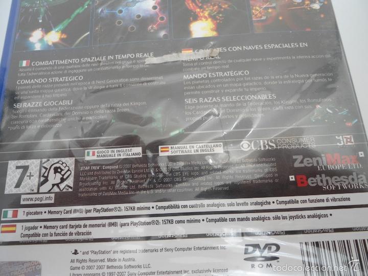 Videojuegos y Consolas: STAR TREK - CONQUEST - SONY PS2 - PLAYSTATION 2 - NUEVO Y PRECINTADO - Foto 7 - 56611887