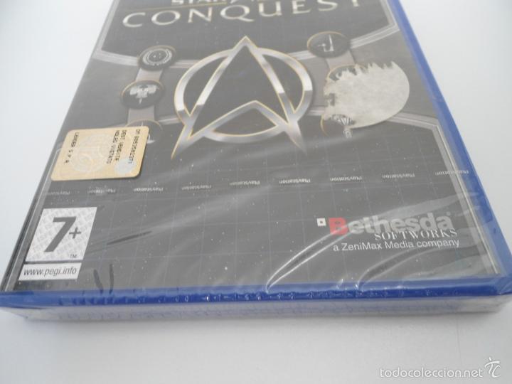 Videojuegos y Consolas: STAR TREK - CONQUEST - SONY PS2 - PLAYSTATION 2 - NUEVO Y PRECINTADO - Foto 8 - 56611887