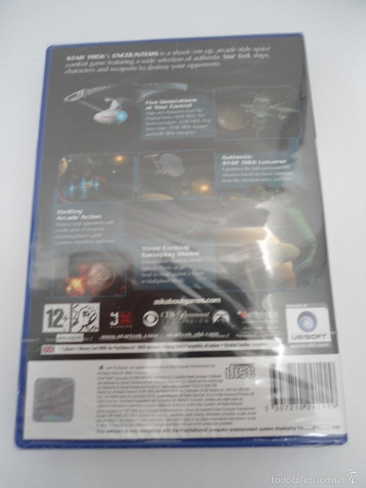 Videojuegos y Consolas: STAR TREK - ENCOUNTERS - SONY PS2 - PLAYSTATION 2 - NUEVO Y PRECINTADO - Foto 4 - 56611918