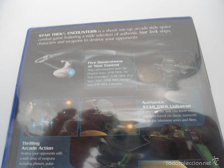 Videojuegos y Consolas: STAR TREK - ENCOUNTERS - SONY PS2 - PLAYSTATION 2 - NUEVO Y PRECINTADO - Foto 5 - 56611918