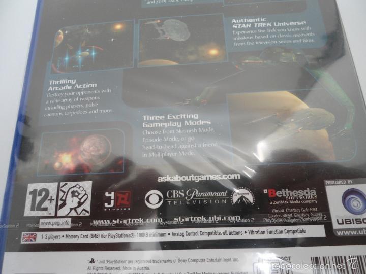 Videojuegos y Consolas: STAR TREK - ENCOUNTERS - SONY PS2 - PLAYSTATION 2 - NUEVO Y PRECINTADO - Foto 7 - 56611918
