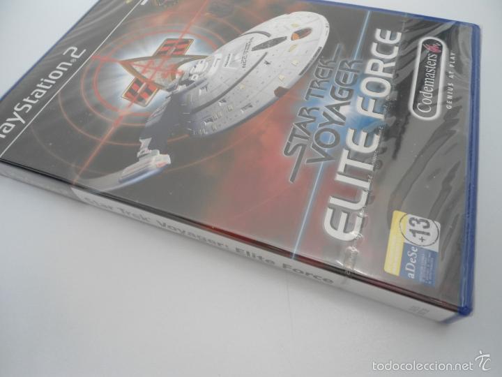 Videojuegos y Consolas: STAR TREK - VOYAGER - ELITE FORCE - SONY PS2 - PLAYSTATION 2 - NUEVO Y PRECINTADO - Foto 2 - 56611929