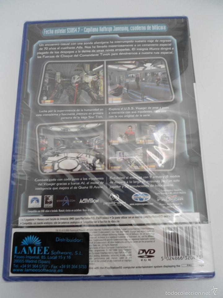 Videojuegos y Consolas: STAR TREK - VOYAGER - ELITE FORCE - SONY PS2 - PLAYSTATION 2 - NUEVO Y PRECINTADO - Foto 4 - 56611929