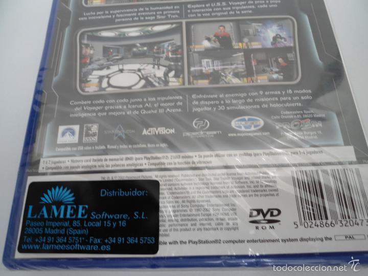 Videojuegos y Consolas: STAR TREK - VOYAGER - ELITE FORCE - SONY PS2 - PLAYSTATION 2 - NUEVO Y PRECINTADO - Foto 6 - 56611929