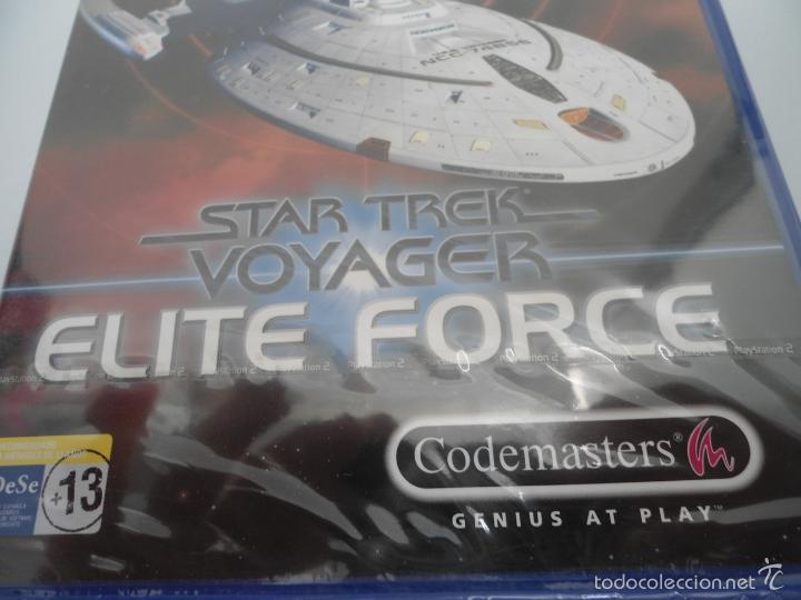 Videojuegos y Consolas: STAR TREK - VOYAGER - ELITE FORCE - SONY PS2 - PLAYSTATION 2 - NUEVO Y PRECINTADO - Foto 8 - 56611929
