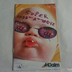 Videojuegos y Consolas: MANUAL INSTRUCCIONES INSTRUCTION SUPER BUST A MOVE PLAYSTATION 2 PS2 PAL UK. Lote 57129004