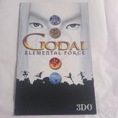 Videojuegos y Consolas: MANUAL INSTRUCCIONES INSTRUCTION GODAI ELEMENTAL FORCE PLAYSTATION 2 PS2 PAL UK. Lote 57129076