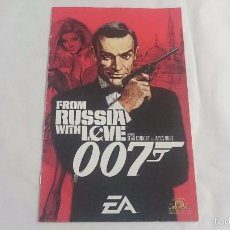 Videojuegos y Consolas: MANUAL INSTRUCCIONES 007 FROM RUSSIA WITH LOVE PLAYSTATION 2 PS2 PAL UK INGLES. Lote 57167774