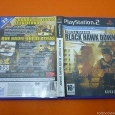Videojuegos y Consolas: DELTA FORCE BLACK HAWK DOWN- VIDEOJUEGO- PLAYSTATION 2. Lote 57340590