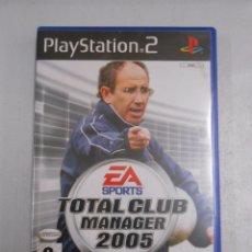 Videojuegos y Consolas: TOTAL CLUB MANAGER 2005. PLAY STATION 2. JAVIER IRURETA. TDKV7. Lote 57432104