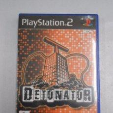 Videojuegos y Consolas: DETONATOR. PLAY STATION 2. PS2. MIDAS INTERACTIVE ENTERTAINMENT. TDKV7. Lote 57432172