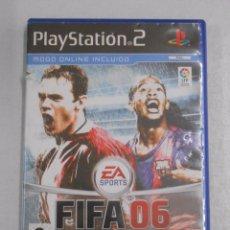 Videojuegos y Consolas: FIFA 2006. 06. PLAYSTATION. PLAY STATION 2. EA SPORTS. TDKV7. Lote 57437138