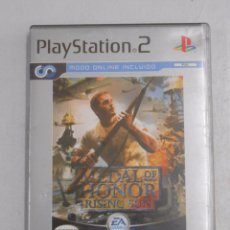 Videojuegos y Consolas: MEDAL OF HONOR. RISING SUN. EA GAMES. PLATINUM. PLAY STATION. PLAYSTATION 2. TDKV7. Lote 57437274