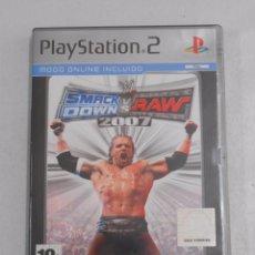 Videojuegos y Consolas: SMACK DOWN 2007 VS RAW. PLAY STATION. PLAYSTATION 2. PLATINUM. TDKV7. Lote 57437876