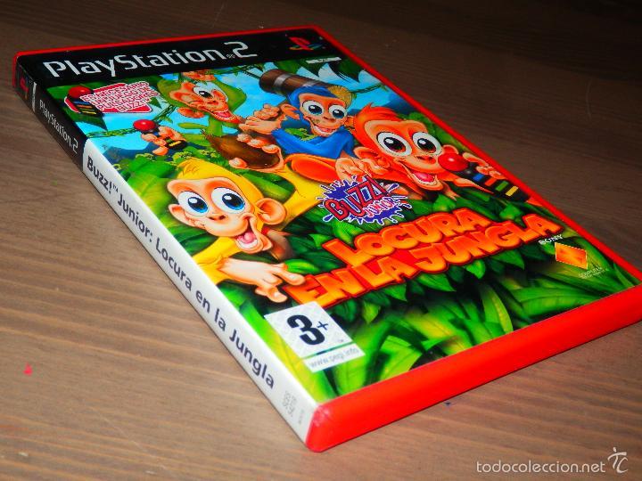 juego ps2 buzz locura en la jungla