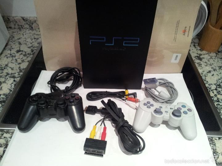 CONSOLA SONY PLAYSTATION PS2 VER FOTOS FUNCIONA (Juguetes - Videojuegos y Consolas - Sony - PS2)