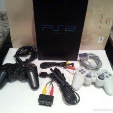 Videojuegos y Consolas: CONSOLA SONY PLAYSTATION PS2 VER FOTOS FUNCIONA. Lote 57769008