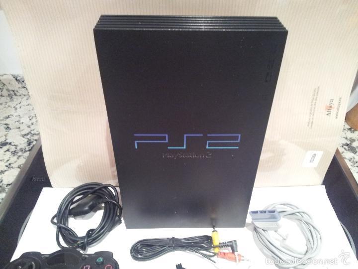 Videojuegos y Consolas: consola sony playstation PS2 ver fotos funciona - Foto 2 - 57769008