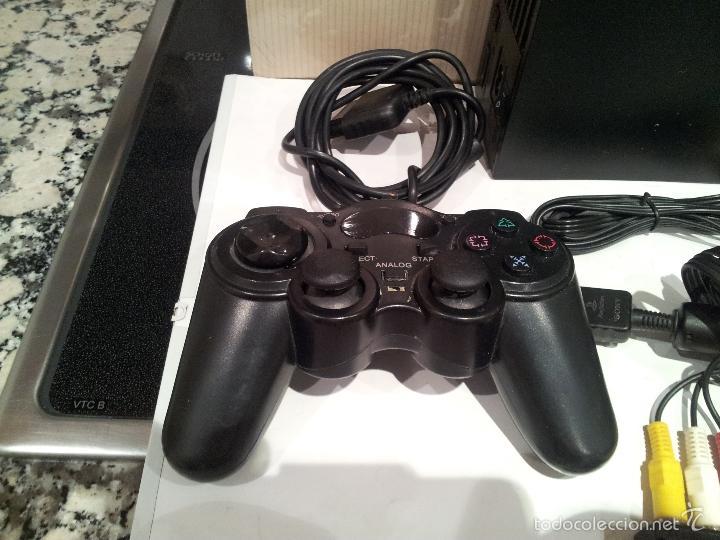 Videojuegos y Consolas: consola sony playstation PS2 ver fotos funciona - Foto 3 - 57769008