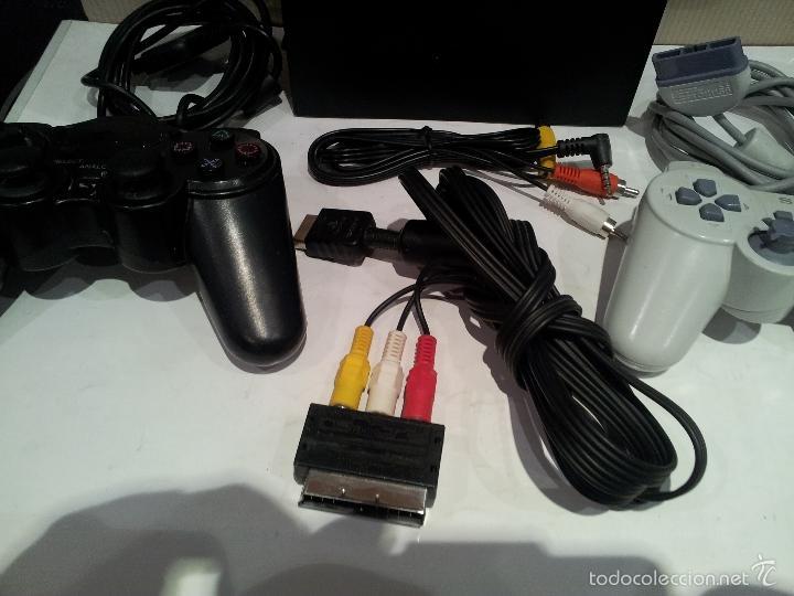 Videojuegos y Consolas: consola sony playstation PS2 ver fotos funciona - Foto 5 - 57769008