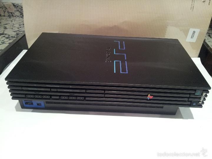 Videojuegos y Consolas: consola sony playstation PS2 ver fotos funciona - Foto 9 - 57769008