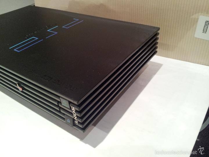 Videojuegos y Consolas: consola sony playstation PS2 ver fotos funciona - Foto 10 - 57769008