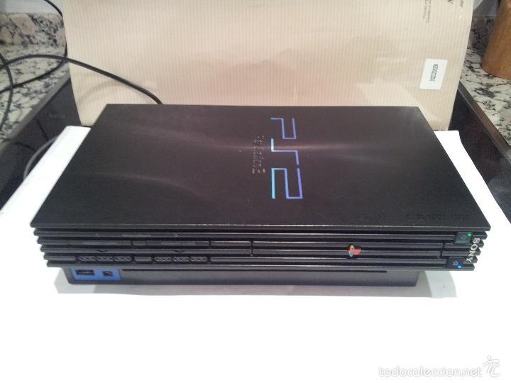 Videojuegos y Consolas: consola sony playstation PS2 ver fotos funciona - Foto 14 - 57769008