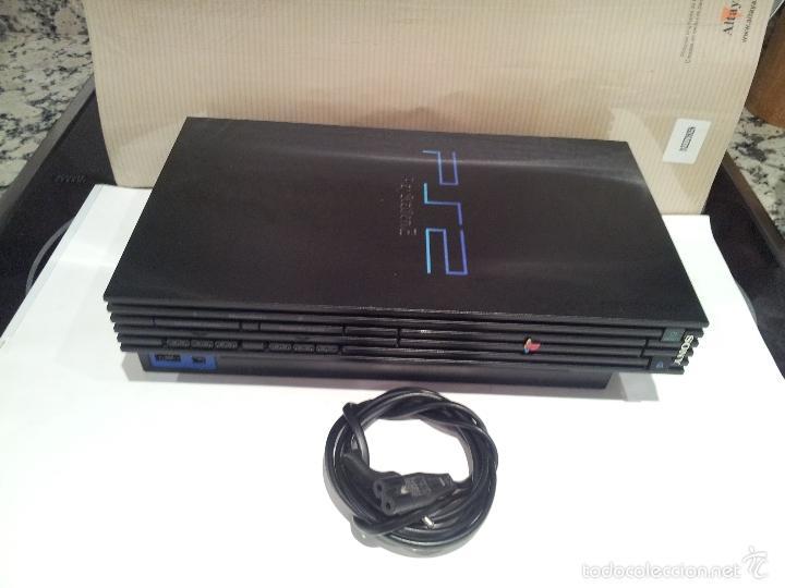 Videojuegos y Consolas: consola sony playstation PS2 ver fotos funciona - Foto 16 - 57769008