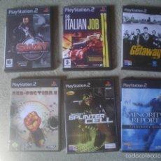 Videojuegos y Consolas: LOTE 6 JUEGOS PS2. Lote 57864258