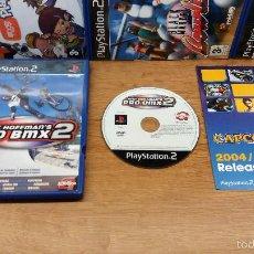 Videojuegos y Consolas: JUEGO SONY PLAYSTATION 2-MATT HOFFMANS PRO BMX 2-ED.ESPAÑOLA-PAL. Lote 58430409