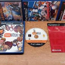 Videojuegos y Consolas: JUEGO SONY PLAYSTATION 2-EYE TOY PLAY-ED.ESPAÑOLA-PAL. Lote 58430519