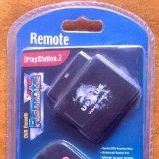 Videojuegos y Consolas: MANDO A DISTANCIA DE DVD PARA PLAYSTATION 2, DE UPXUS VIDEO GAMES. BLISTER ORIGINAL SIN ABRIR.. Lote 58524247