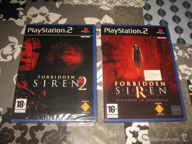 2 Juegos Forbidden Siren 1 Y 2 Pal Espana Compl Sold Through