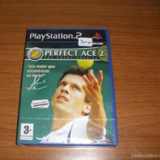 Videojuegos y Consolas: PS2 - PLAY 2 - JUEGO - PERFECT ACE 2 THE CHAMPIONSHIP - A ESTRENAR SIN DESPRECINTAR. Lote 59048360