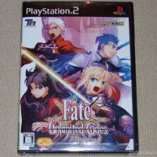 Videojuegos y Consolas: FATE/UNLIMITED CODES, PRECINTADO NTSC JAP -PS2-. Lote 242154650