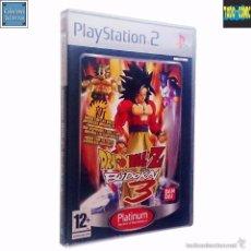 Videojuegos y Consolas: DRAGON BALL Z BUDOKAI 3 / JUEGO PLAYSTATION 2 PLAY STATION PS2 / PAL / BANDAI 2005 AKIRA TORIYAMA. Lote 60106403